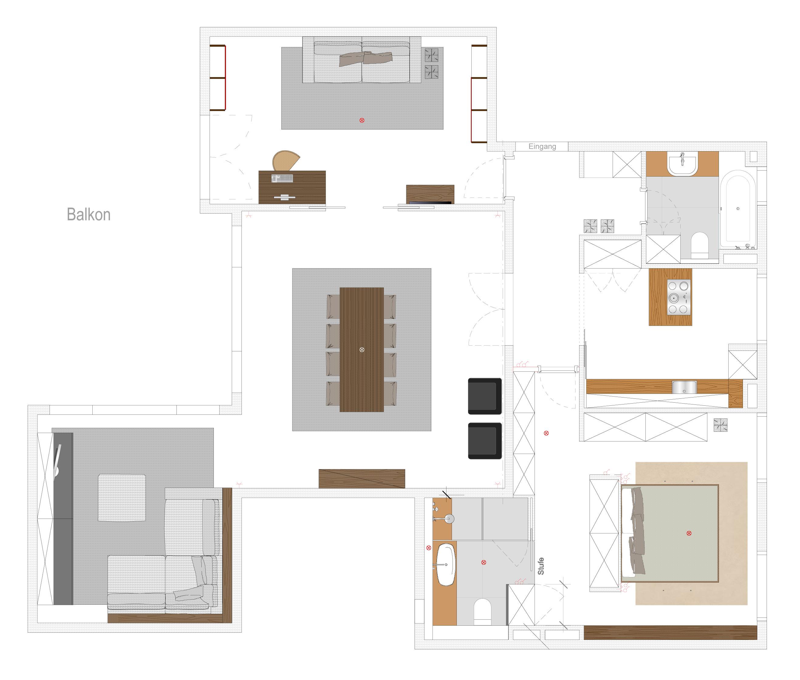 exklusive traumwohnung in exponierter lage haus der. Black Bedroom Furniture Sets. Home Design Ideas